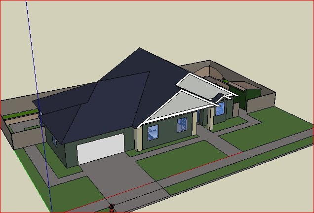 This Is Actually From The Model Used To Create My House Which Was Then Submitted To My Builder And Was Code Ready Very Time Intensive But Allowed For